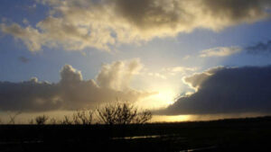 Sonnenaufgang auf Langeoog im November