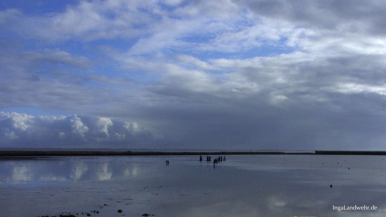 Wattenmeer bei Ebbe