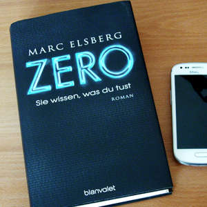 Zero von Marc Elsberg, Buchcover