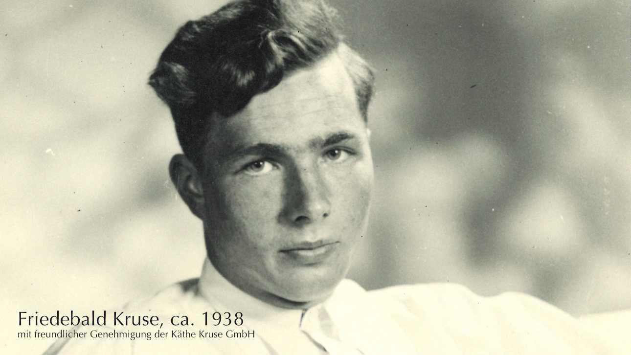 Ein Portrait von Friedebald Kruse aus dem Jahr 1938